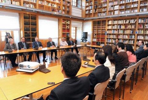 Imaxes visita consello da cultura  - Xornadas sobre autonomías en España e China: Galicia como exemplo